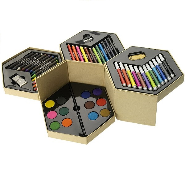 52 pc Colouring Set