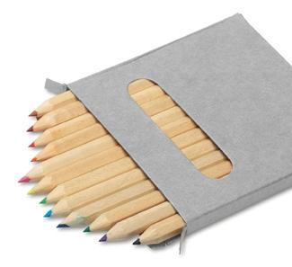 12 Colour Pencil Set