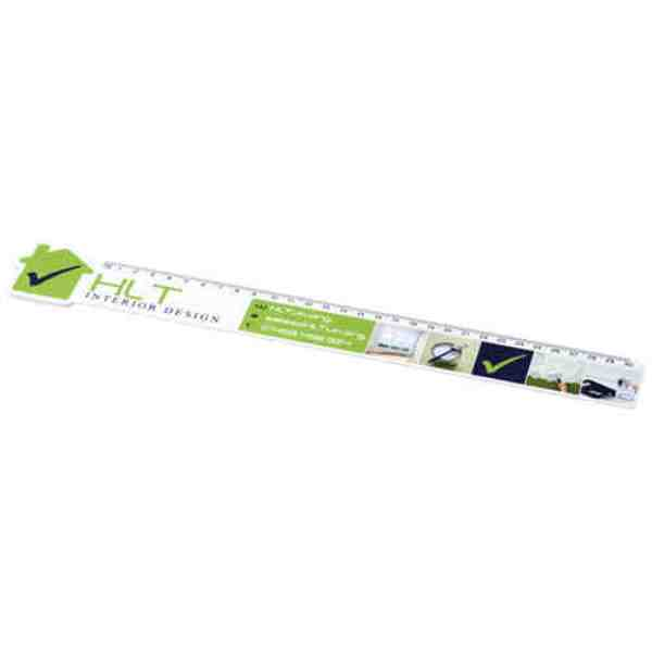 Loki 30cm House-Shaped Plastic Ruler
