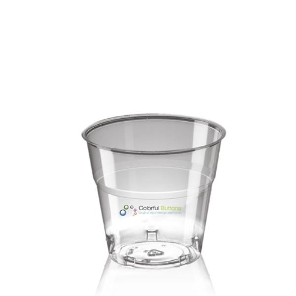 Disposable Plastic Tumbler (160ml/5.6oz) - Crystal Polystyrene