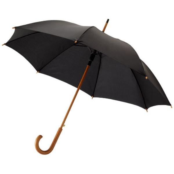 Kyle 23'' Auto Open Umbrella Wooden Shaft and Handle
