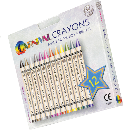 Carnival Crayons 12 Pack