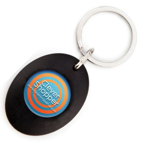 Trolley Token Key Ring