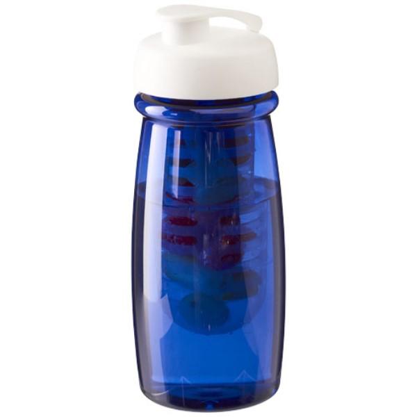H2O Pulse® 600ml Flip Lid Sport Bottle & Infuser