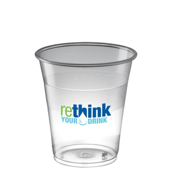 Disposable Plastic Tumbler (350ml/12.3oz) - Polypropylene