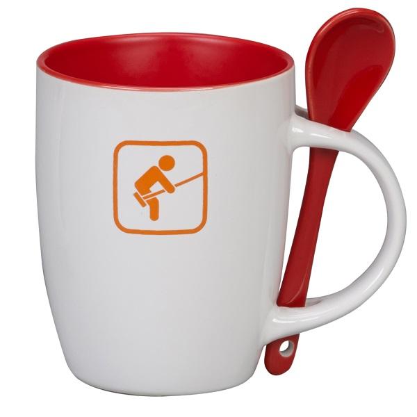 Mugs & Spoons Earthenware Mug