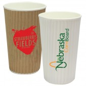 16oz Rippled Simplicity Paper Cup