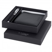 Luxe Baritone Pen and Wallet Gift Set