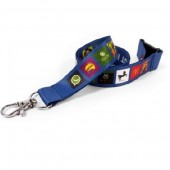 2cm Dye Sublimation Lanyard