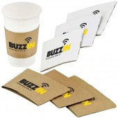 Solid Paper Cup Sleeve 12-16oz/360-480ml