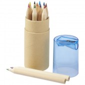 Hef 12-piece Coloured Pencil Set with Sharpener