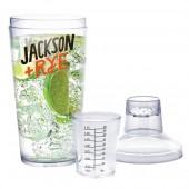 Plastic Manhattan Cocktail Shake - 500ml