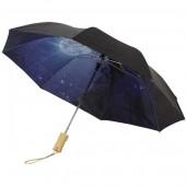 Clear-Night 21'' Foldable Auto Open Umbrella