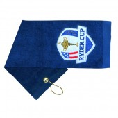 Embroidered Cotton Golf Towel