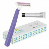 BIC Comfort 2 Lady Shaver with Gel in Personalised Box