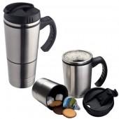 2-In-1 Metal Thermal Mug