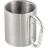 Stainless Steel, Double Walled Travel Mug (200ml)