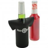 Neoprene T-Shirt Shaped Bottle Cooler