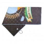 Printed Microfiber Golf Towel