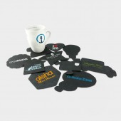 Shaped Tyre Coasters