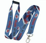 15mm UK Dye Sublimation Lanyard