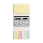 Booklet with Sticky Notes and Calculator