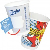 8oz Coupon Paper Cup Double Walled (Full Colour)