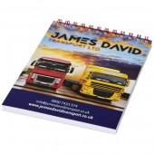 Desk-Mate® Wire-O A6 Notebook