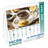 Square Easel Calendar