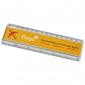 Ellison 15cm Plastic Ruler with Paper Insert