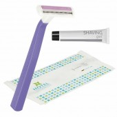 BIC Comfort 2 Lady Shaver with Gel in Personalised Flow Pack
