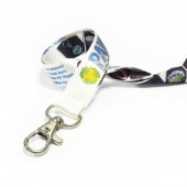 1.5cm Recycled PET Dye Sublimation Lanyard